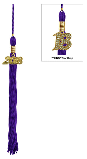 Purple University Tassel - Graduation UK