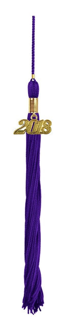 Purple High School Tassel - Graduation UK