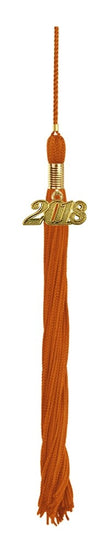 Orange Graduation Tassel - Graduation UK