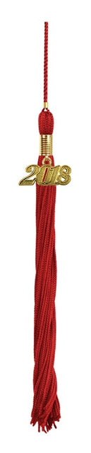 Red Primary / Secondary Tassel - Graduation UK