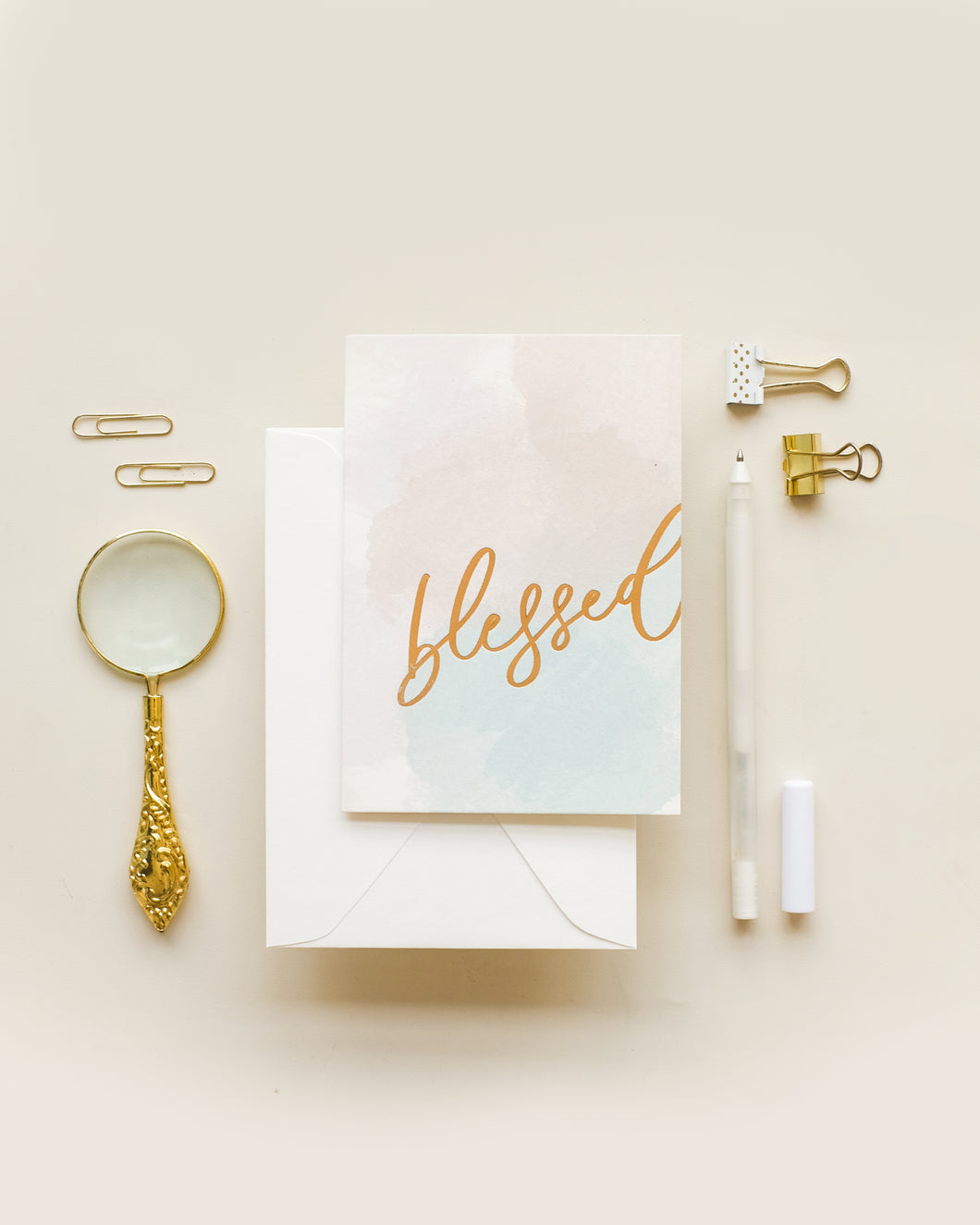 Blessed - Greeting Card