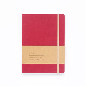 Cava Notebook - Candy Red
