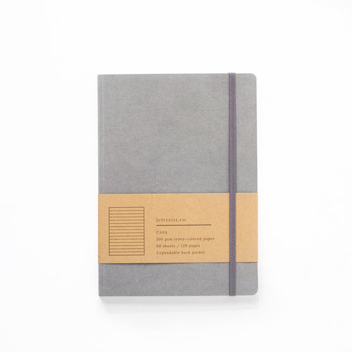 Cava Notebook - Stone Grey