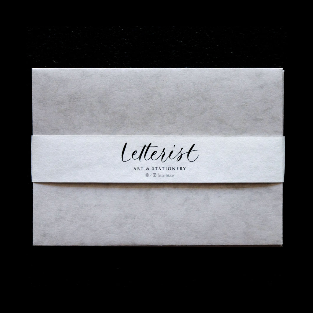 Arthurian Marble Envelope - set of 5