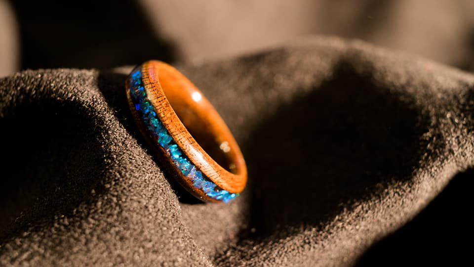 Crushed-Opal-Bentwood-Ring