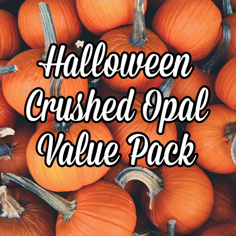Halloween Crushed Opal Value Pack - 5 Grams Total - Limited Edition