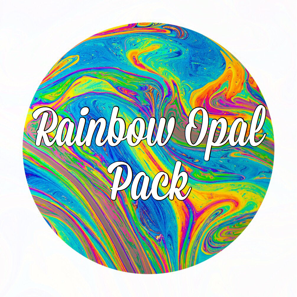 Rainbow Crushed Opal Value Pack - 6 Grams Total