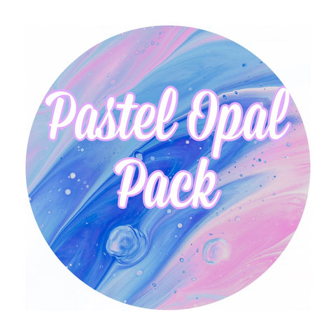 Pastel Crushed Opal Value Pack - 6 Grams Total