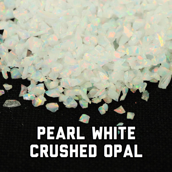 All White Crushed Opal Value Pack - 2 Grams Total