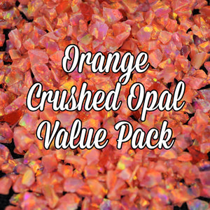 All Orange Crushed Opal Value Pack - 3 Grams Total