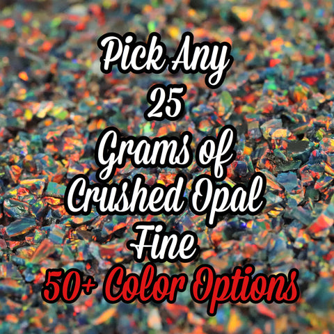 25-Pack Fine Size Crushed Opal