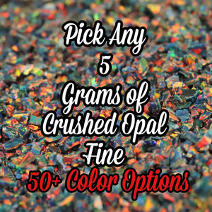 5-Pack Fine Size Crushed Opal