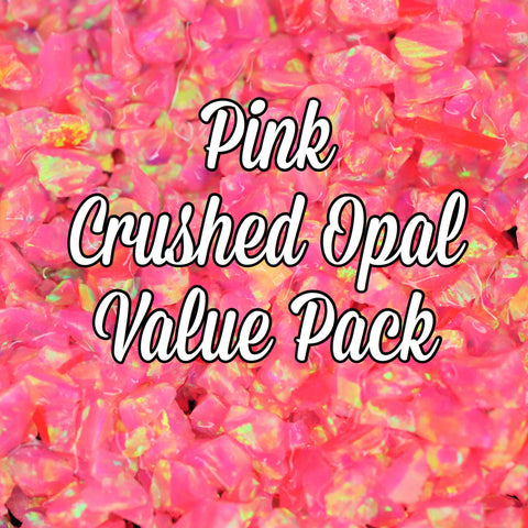 All Pink Crushed Opal Value Pack - 6 Grams Total