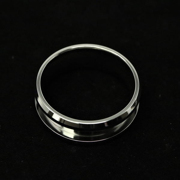 Stainless Steel Ring Blank 8mm Wide, 4mm Channel
