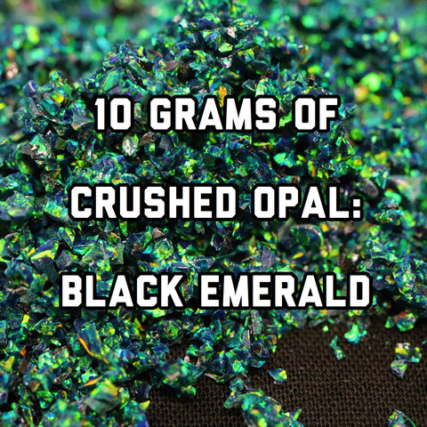 10 Grams Black Emerald