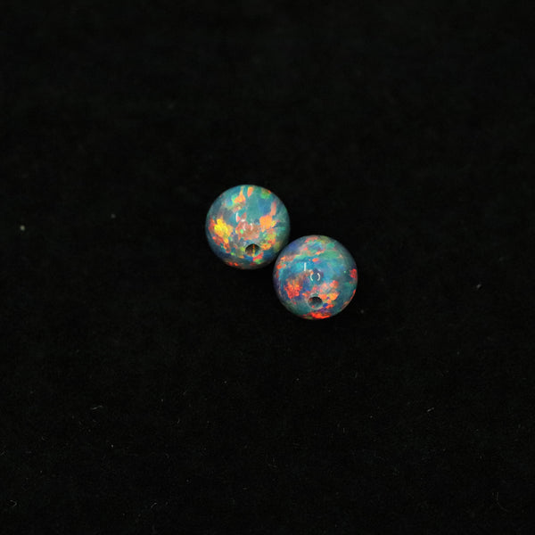 Moonstone Opal 6mm Craft Beads - 1mm Center Drilled