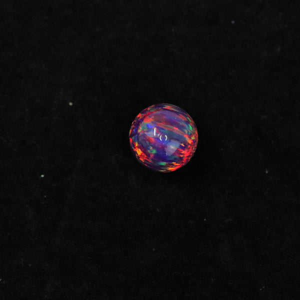 Orchid Opal 10mm Craft Beads - 1mm Center Drilled