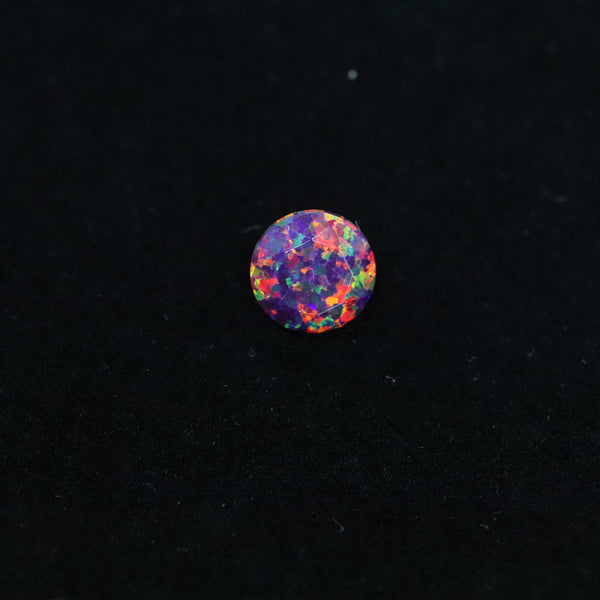 Orchid Diamond Cut Faceted Opal Stones