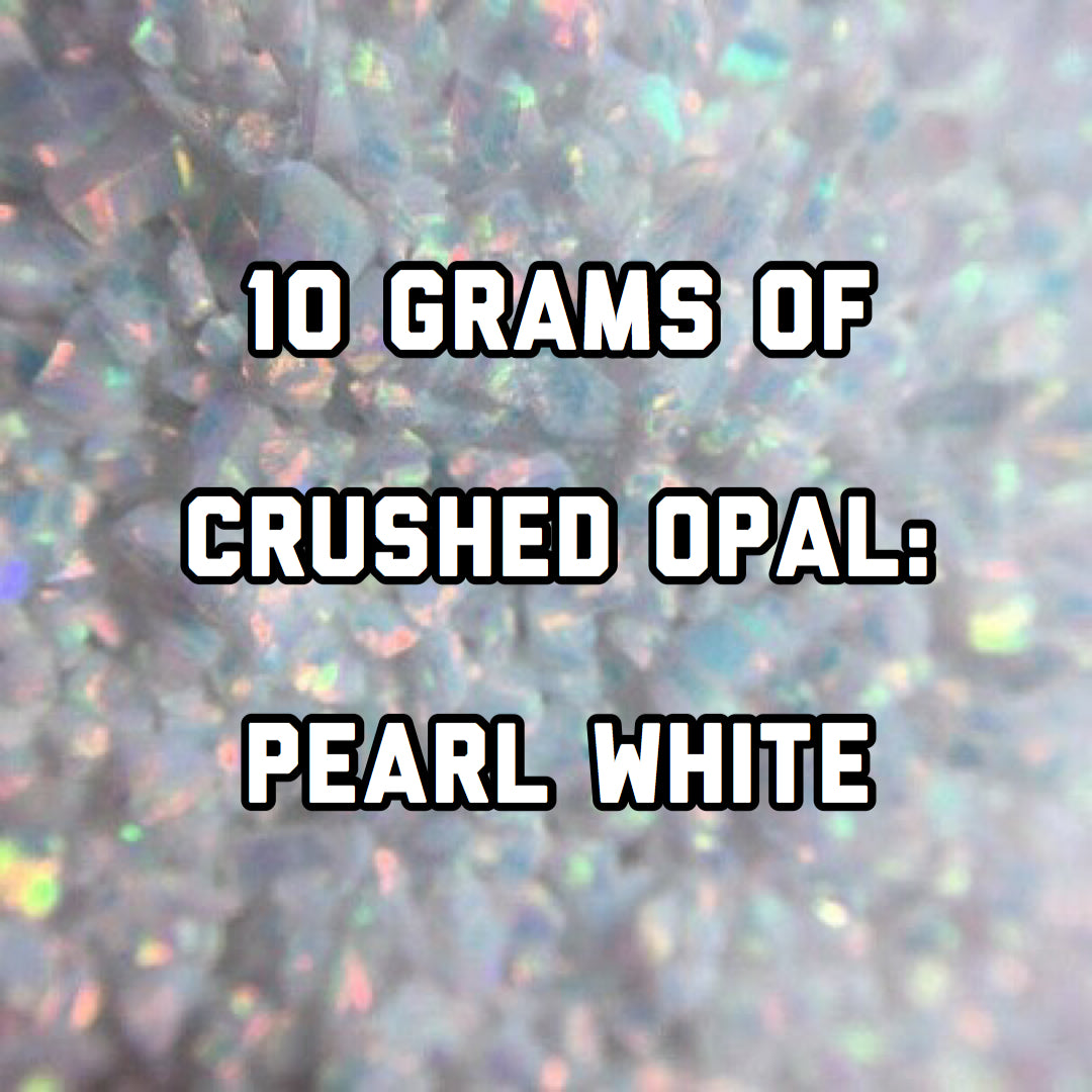 10 Grams Pearl White