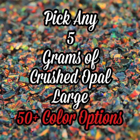 5-Pack Large Size Crushed Opal