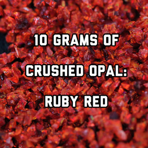 10 Grams Ruby Red