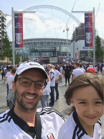 wembley stadium fulham father and son