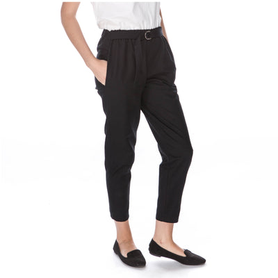 organic cotton black trousers fair trade women