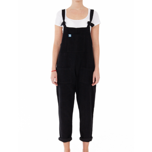 The Original Corduroy Dungarees - Midnight Black