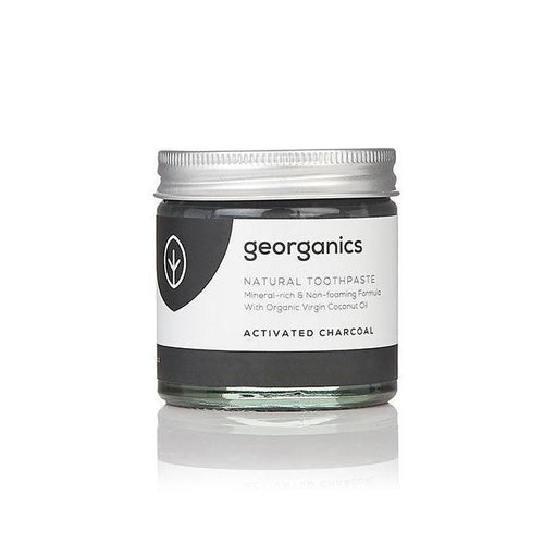 Natural Mineral-rich Toothpaste - Activated Charcoal