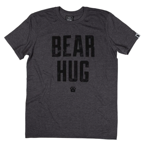 Woodland Grey Bear Hug Organic Cotton T-shirt