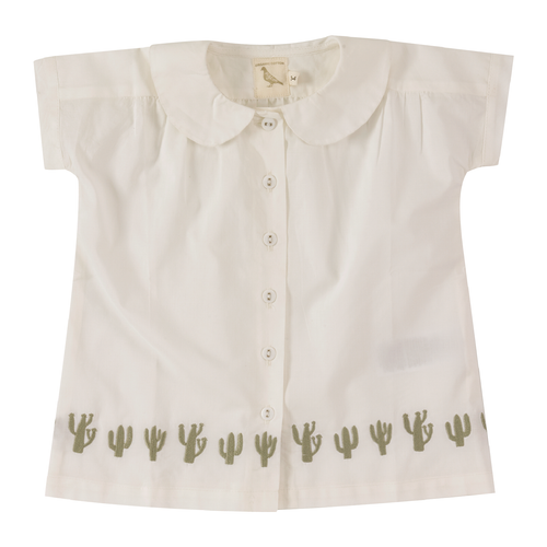 organic cotton blouse for girls
