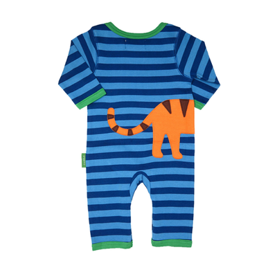 Tiger Organic Cotton Sleepsuit