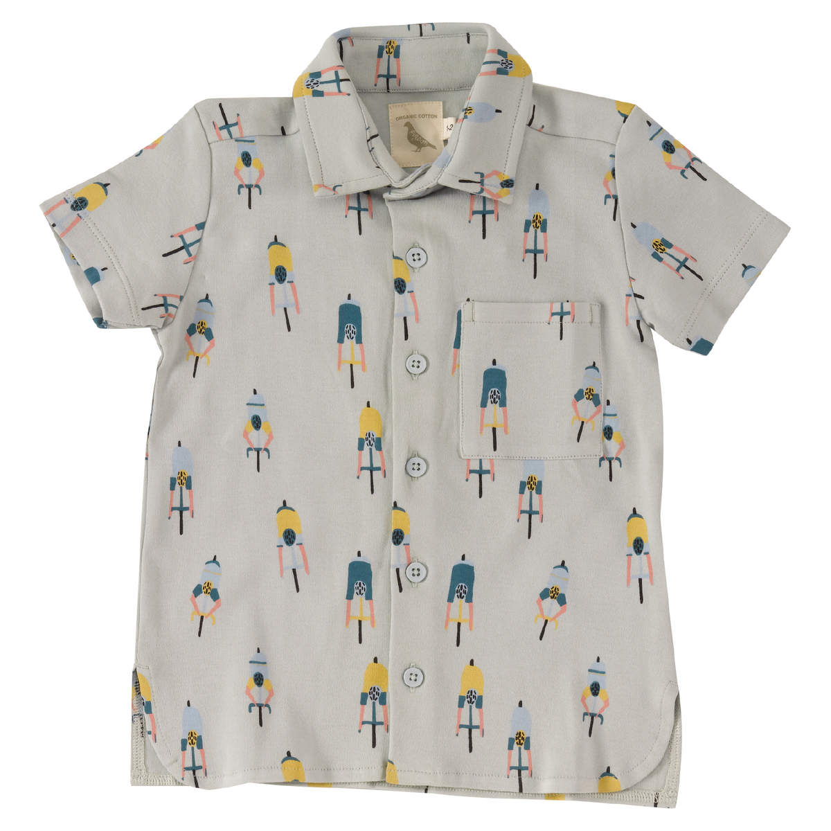 Printed Jersey Shirt - Cyclist