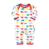 Multi Dino Organic Cotton Sleepsuit