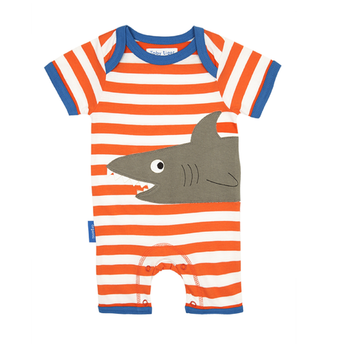 Shark Organic Cotton Romper