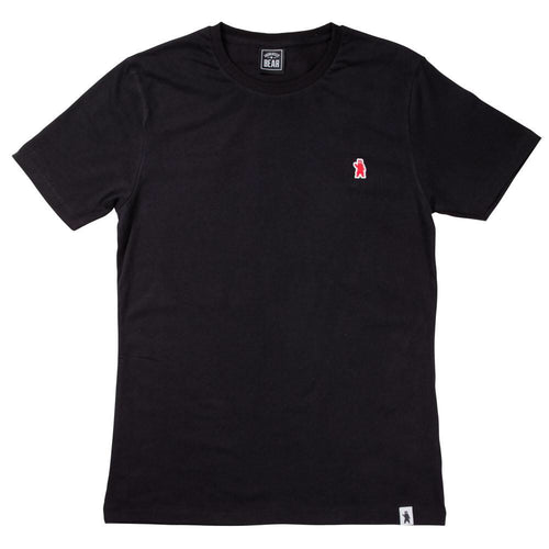 The Aspen Black Cotton T-shirt