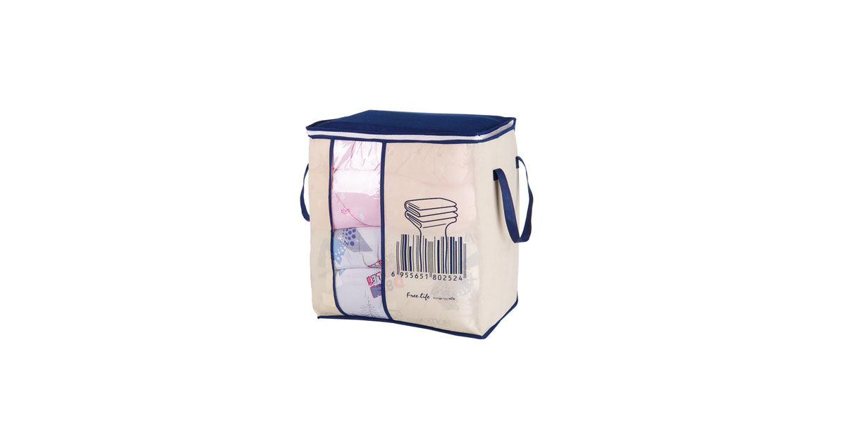 Foldable Wardrobe Storage Bag Pillow Quilt Dust Bag