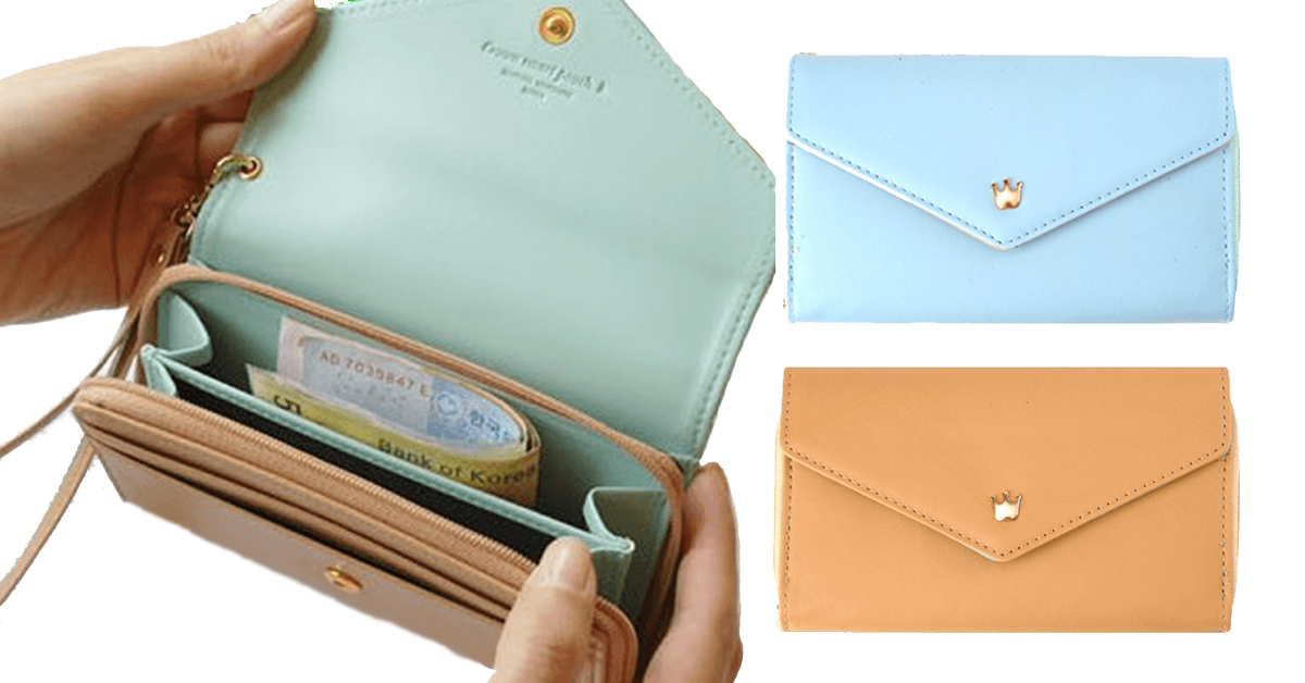 3-in-1 Smartphone Wallet Purse