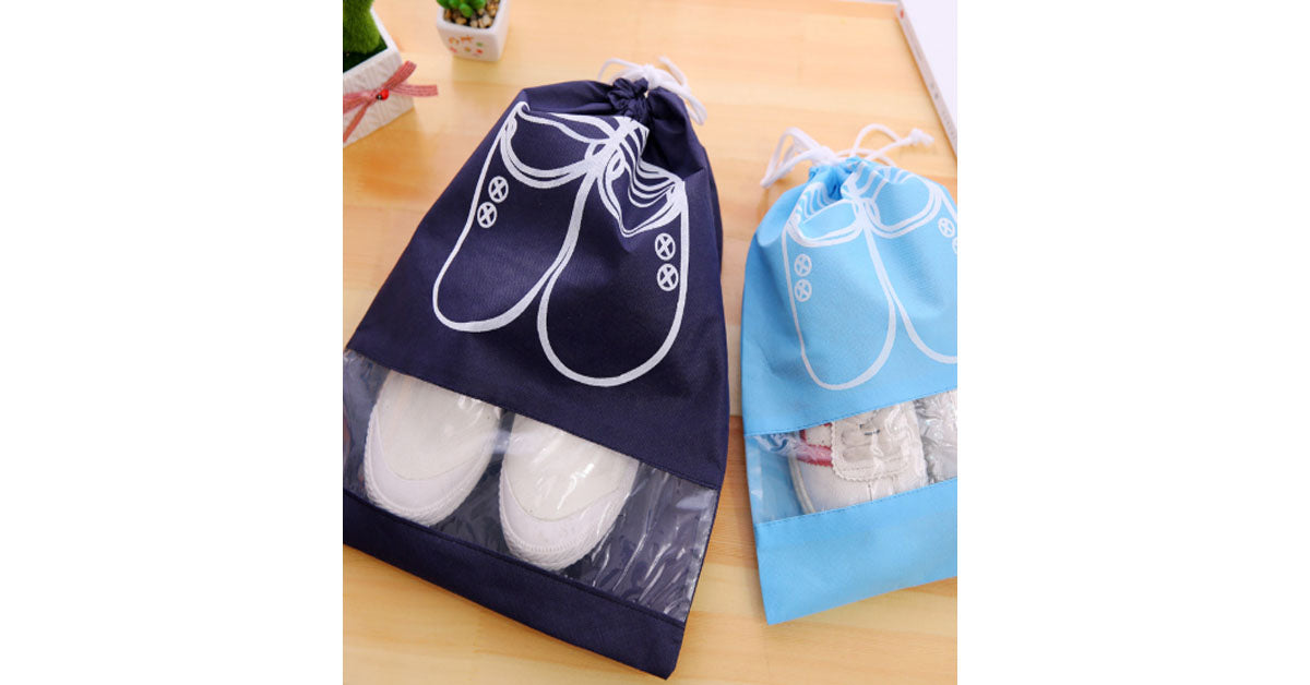 Travel Portable Dust-Proof Storage Shoe Bag