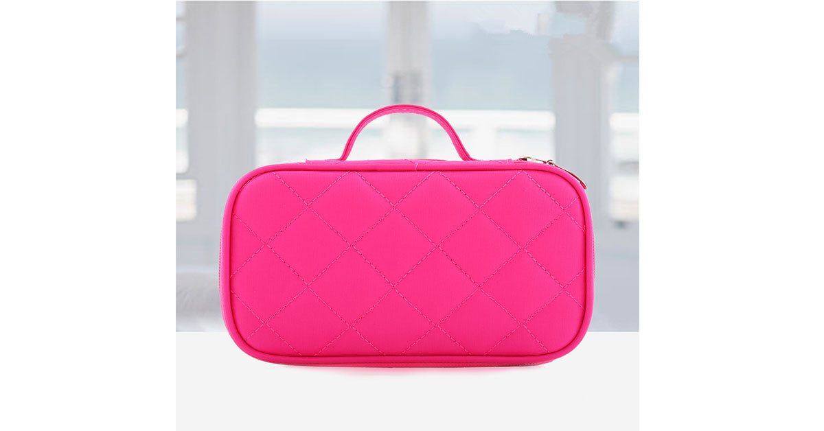 Double Layer Waterproof Makeup Bag Multi-function Bag