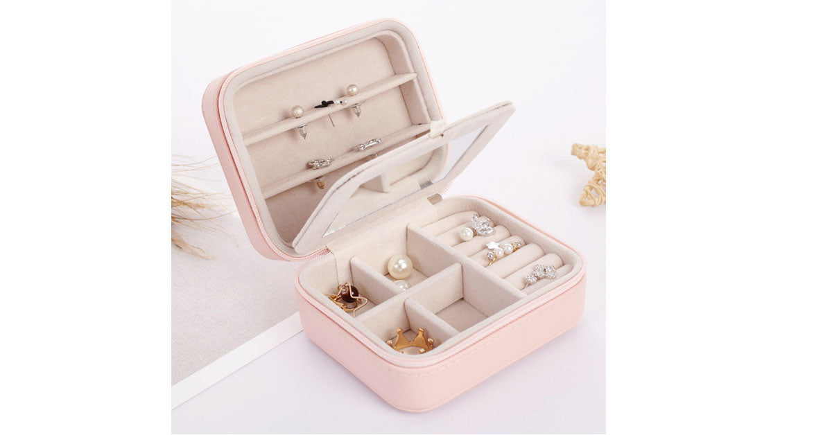 Traveler's Portable Jewellery Storage Box
