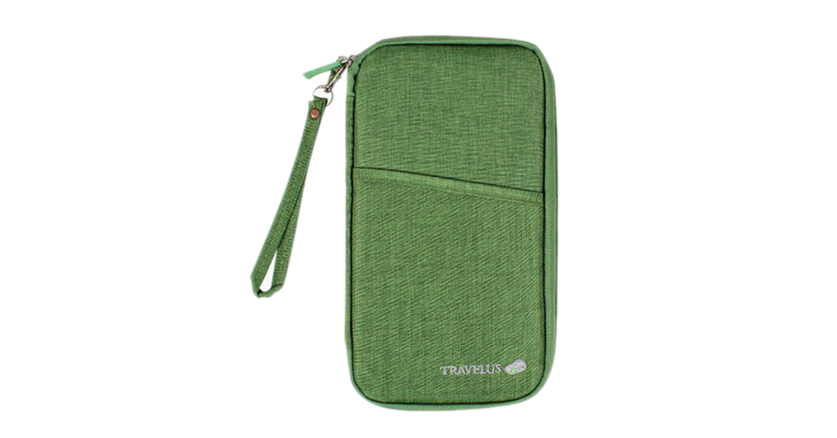 Essential Zipped Travel Wallet