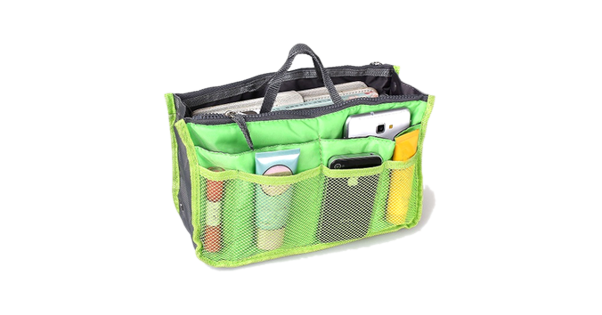Slim Bag-in-Bag Purse Organizer - Buy 1 Get 4 Free