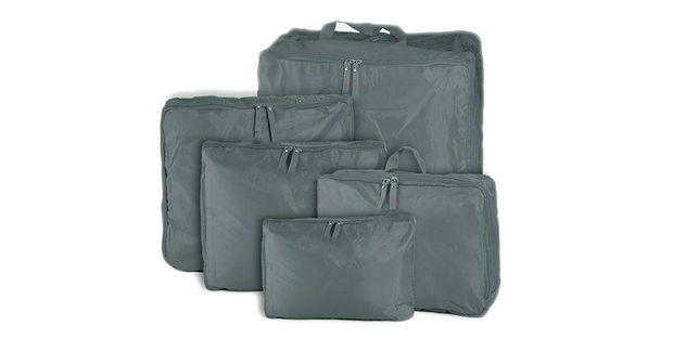 5-Piece Travel Bag Organizer Set