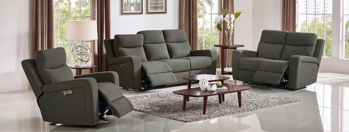 Power Reclining Sectional | Leather Recliners | Modern Home ...