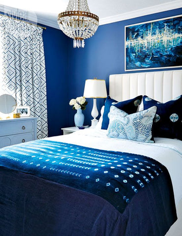 Room Ideas with Pantone's Color of Year 2020--Classic Blue