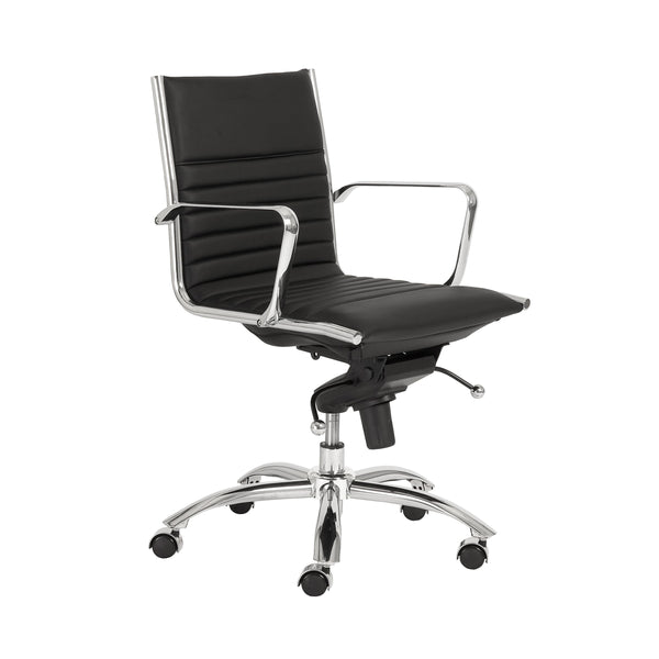 Dirk Low Back Office Chair - Fast Ship Furniture