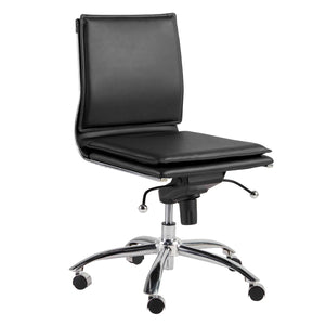 Gunar Pro Low Back Armless Office Chair