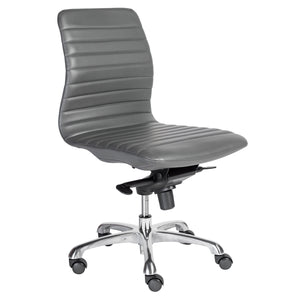 Everett Armless Low Back Office Chair