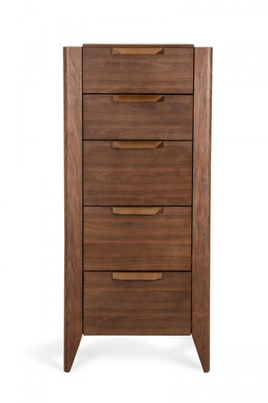 Veneer Chest of Drawers